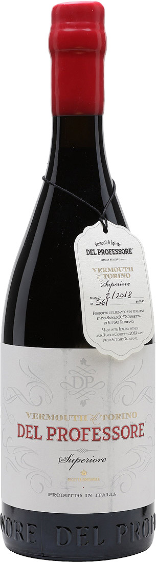 Del Professore - Vermouth di Torino Superiore Barolo 75cl Bottle