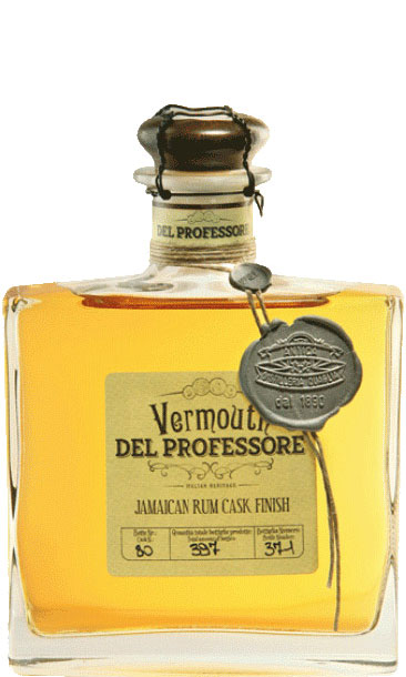 Del Professore - Jamaican Rum Cask Finish Vermouth 50cl Bottle