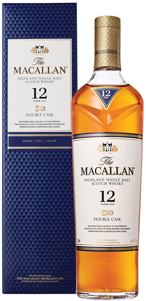 Macallan - 12 Year Old Double Cask 70cl Bottle