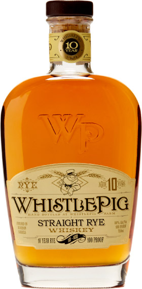Whistlepig - Straight Rye 100/100 10 Year Old 70cl Bottle