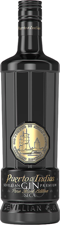 Puerto de Indias - Black Edition Gin 70cl Bottle
