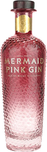 Mermaid - Pink Gin 70cl Bottle