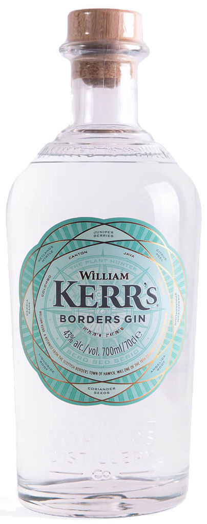 William Kerr's - Borders Gin 70cl Bottle