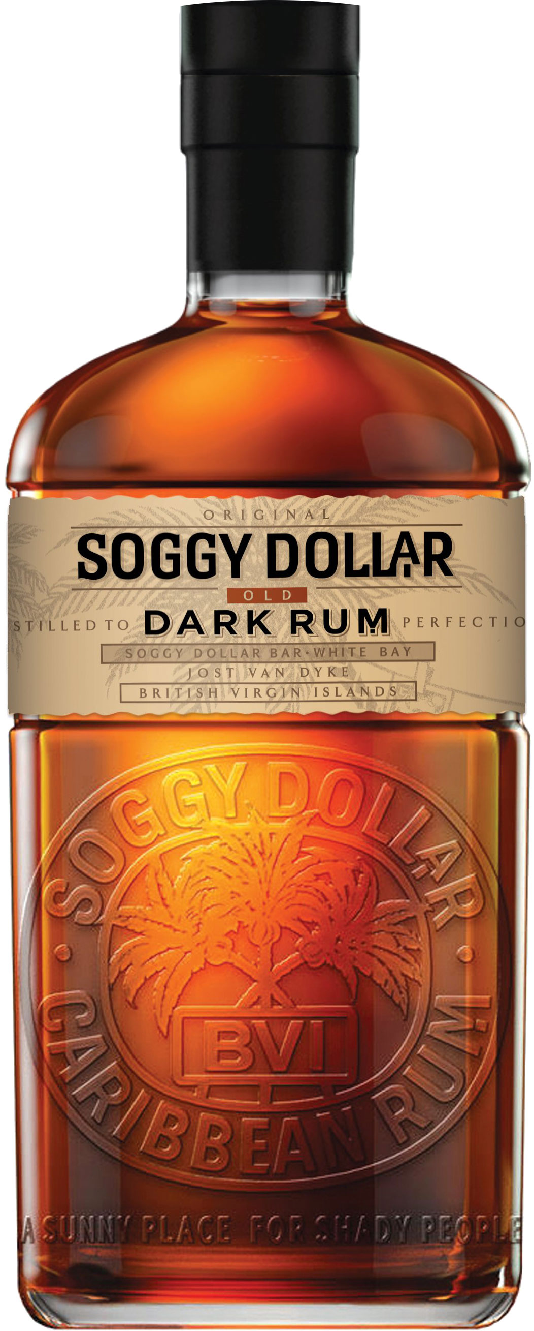 Soggy Dollar - Dark Rum 70cl Bottle
