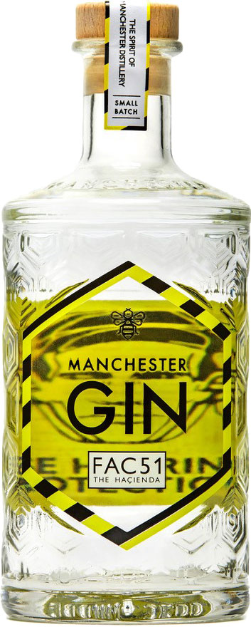 Manchester Gin - Fac51 The Hacienda 50cl Bottle