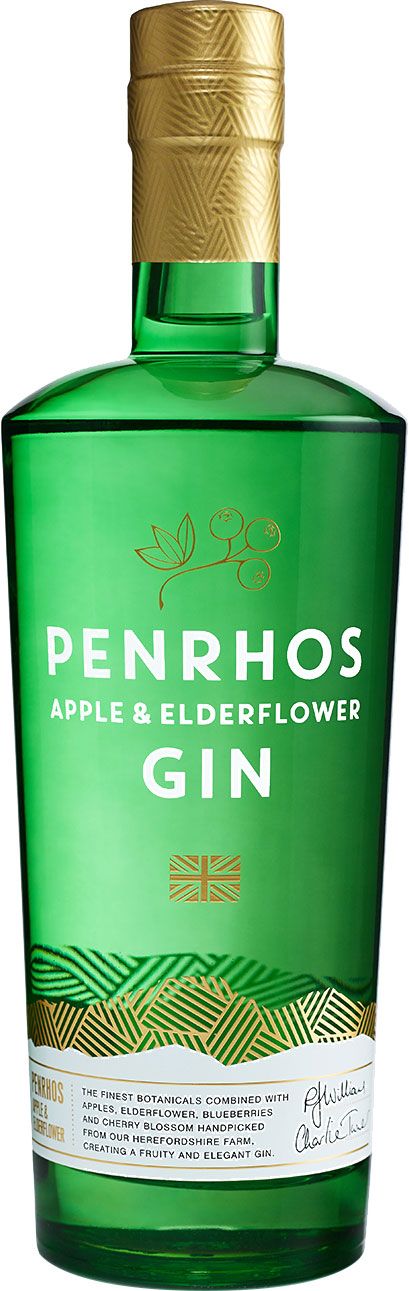 Penrhos - Apple & Elderflower Gin 70cl Bottle