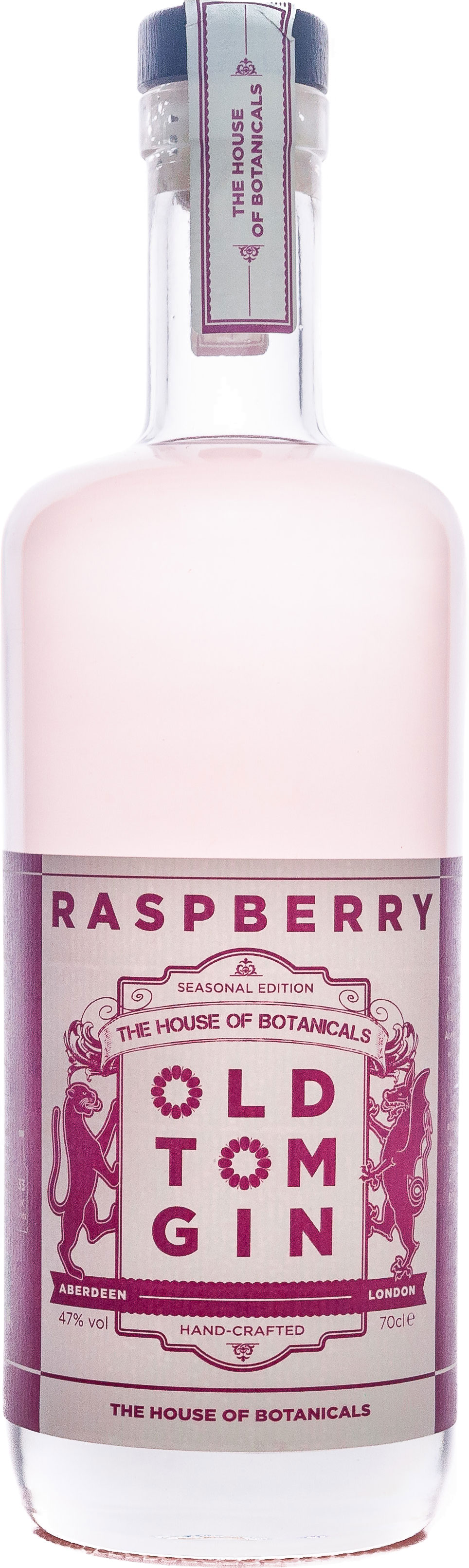 House of Botanicals - Raspberry Old Tom Gin 70cl Bottle