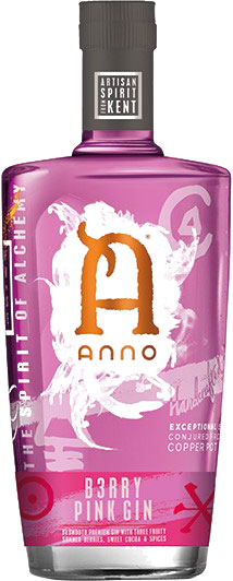 Anno - B3rry Pink Gin 70cl Bottle