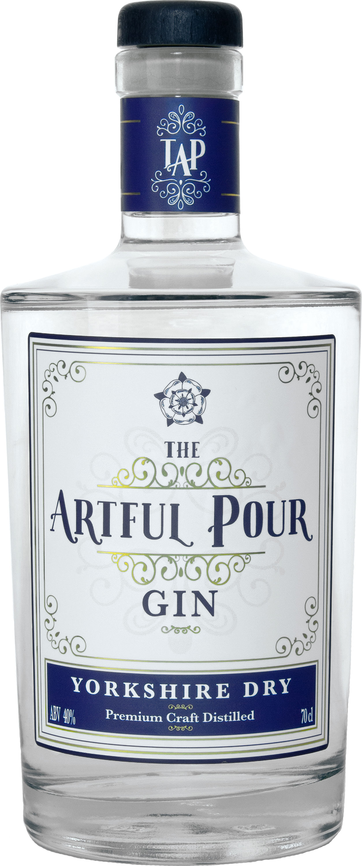 The Artful Pour - Yorkshire Dry Gin 70cl Bottle
