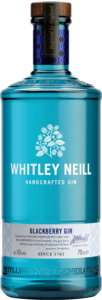 Whitley Neill - Blackberry Gin 70cl Bottle
