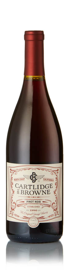 Cartlidge and Browne - Pinot Noir 2017 12x 75cl Bottles