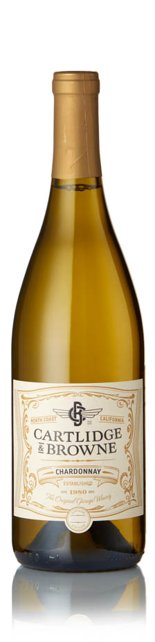 Cartlidge and Browne - Chardonnay 2017 12x 75cl Bottles