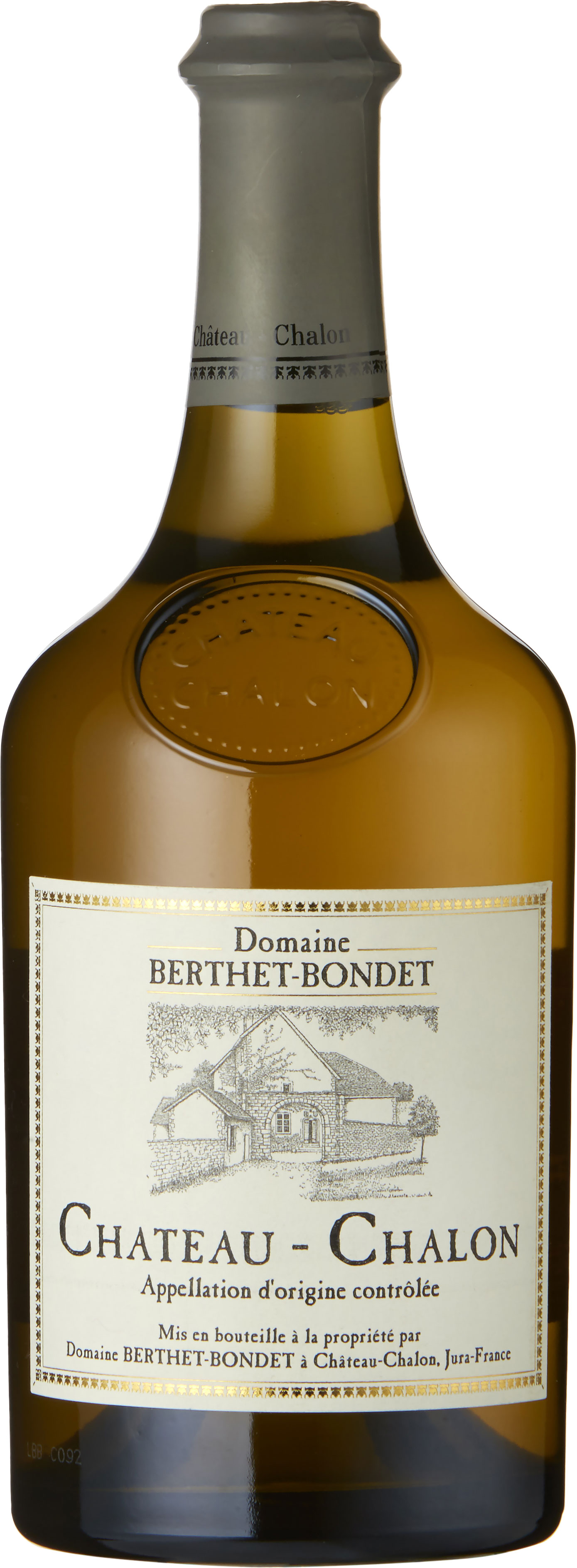 Domaine Berthet-Bondet - Chateau Chalon 2011 6x 620ml Bottles