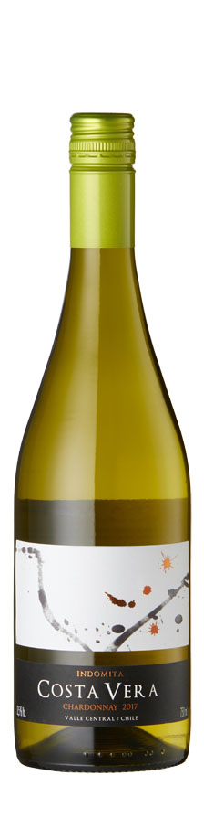 Indomita - Costa Vera Chardonnay 2019 12x 75cl Bottles