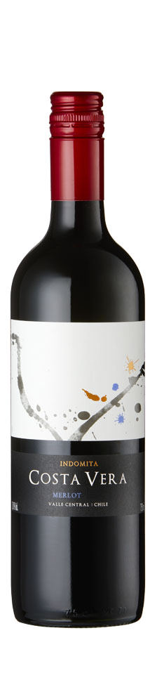 Indomita - Costa Vera Merlot 2018 12x 75cl Bottles