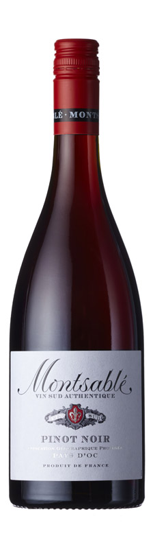 Montsable - Pinot Noir IGP d'Oc 2018 6x 75cl Bottles