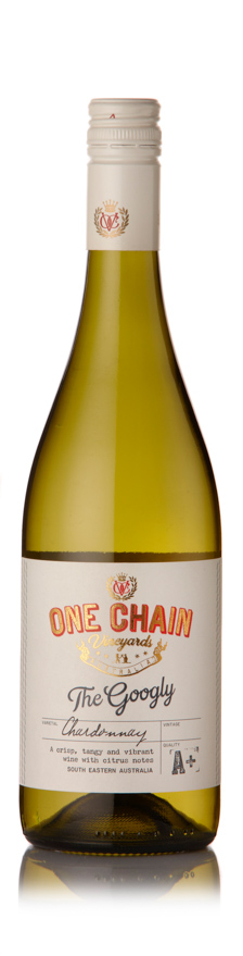One Chain Vineyards - The Googly Chardonnay South Eastern Australia 2018 12x 75cl Bottles