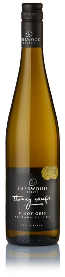 Sherwood Estate - Stoney Range Pinot Gris Waipara 2017 12x 75cl Bottles