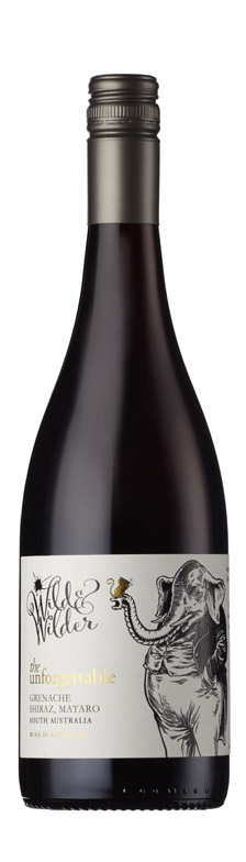 Wild & Wilder - The Unforgettable Grenache Shiraz Mataro South Australia 2018 12x 75cl Bottles