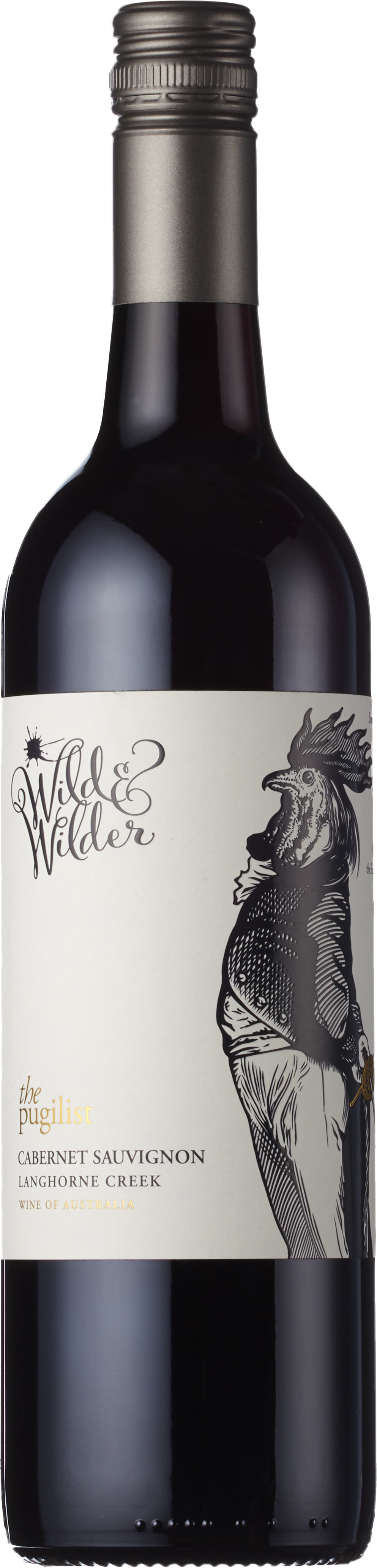 Wild & Wilder - The Pugilist Cabernet Sauvignon Langhorne Creek South Australia 2018 12x 75cl Bottles