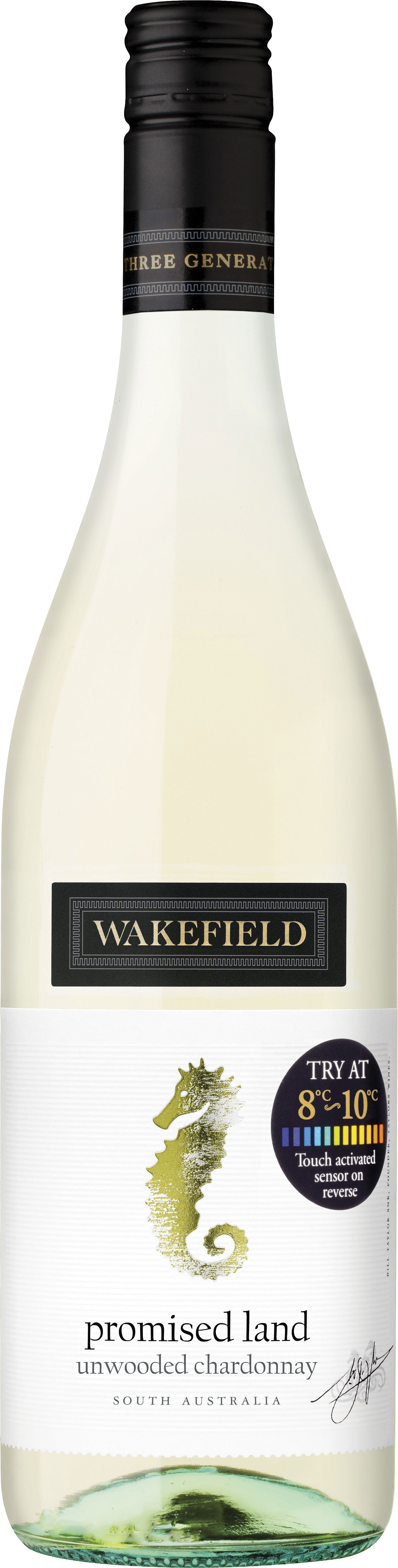 Wakefield Wines - Promised Land Chardonnay 2017 6x 75cl Bottles