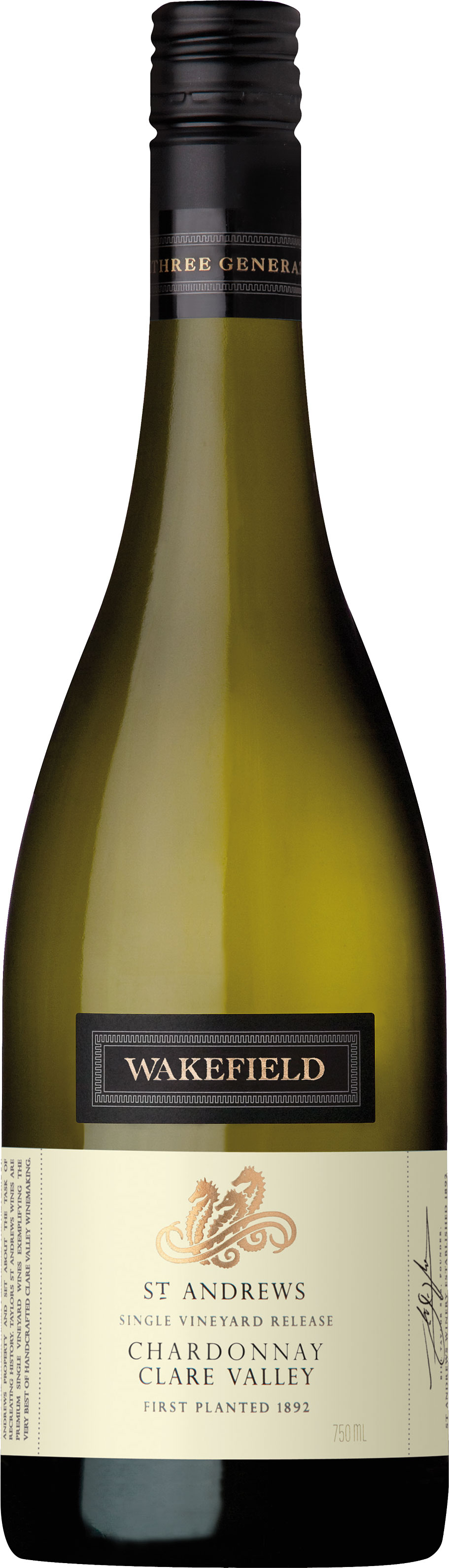Wakefield Wines - St Andrews Chardonnay 2016 6x 75cl Bottles