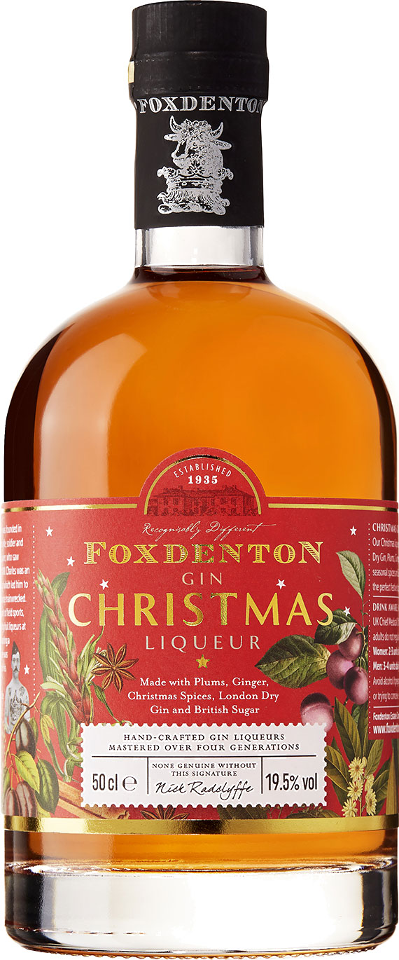 Foxdenton - Christmas Liqueur 50cl Bottle