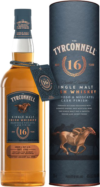 Tyrconnell - Oloroso & Moscatel Cask Finish Single Malt Aged 16 Years 70cl Bottle