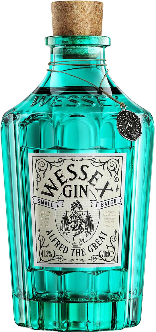 Wessex Distillery - Alfred The Great Gin 70cl Bottle