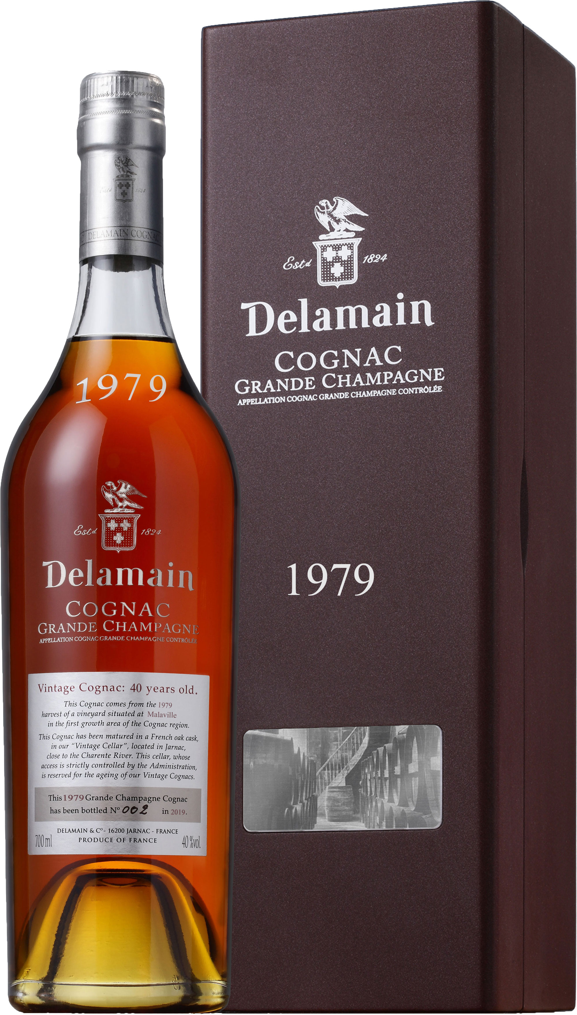 Delamain - Grande Champagne Vintage 1979 70cl Bottle