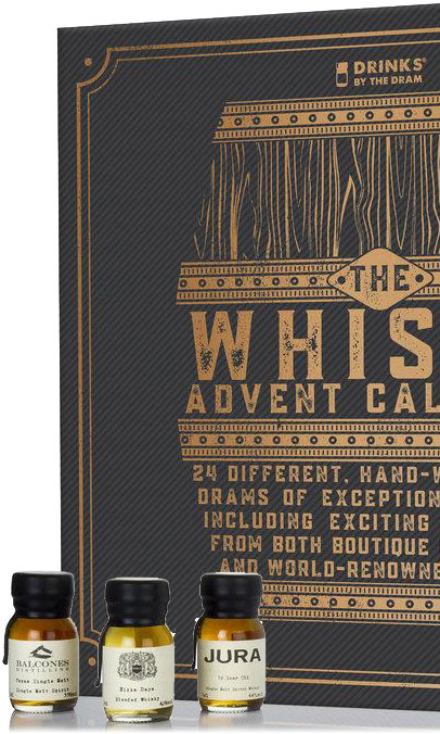 Drinks By The Dram - 24 Whisky Advent Calendar Gift Set