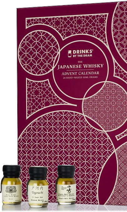 Drinks By The Dram - 24 Japanese Whisky Advent Calendar Gift Set