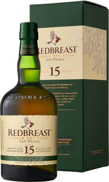 Jameson - Redbreast 15 Year Old 70cl Bottle