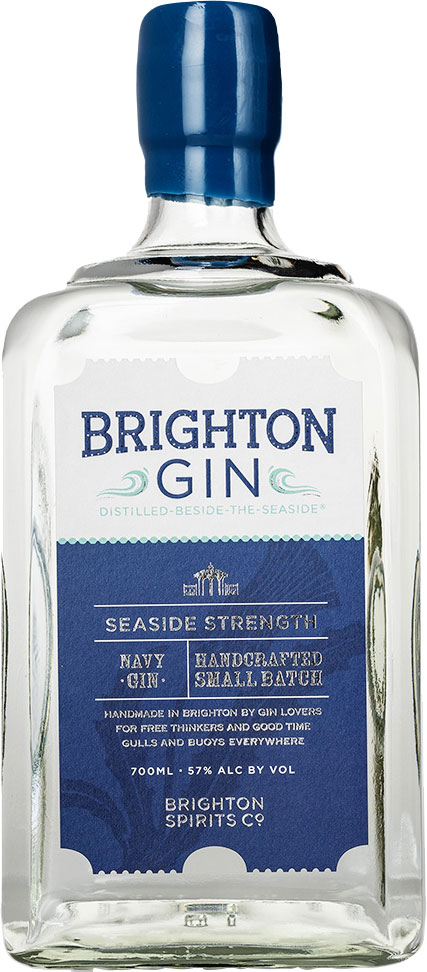 Brighton Gin - Seaside Strength 70cl Bottle