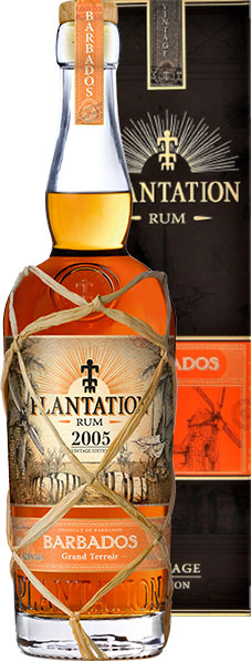 Plantation Rum - Barbados 2005 70cl Bottle