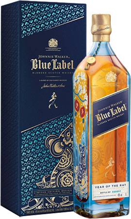Johnnie Walker - Blue Label Year Of The Rat 70cl Bottle