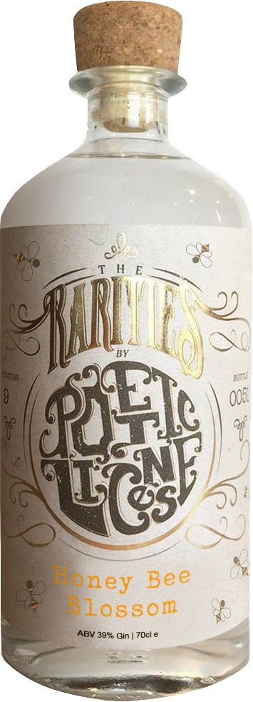 Poetic License - The Rarities No.12 Honey Bee Blossom Gin 70cl Bottle
