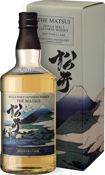 The Matsui - Mizunara Cask Single Malt 70cl Bottle