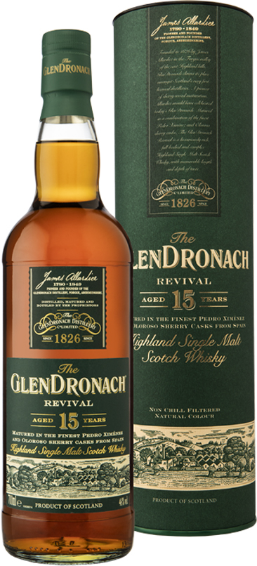 Glendronach - 15 Year Old Revival 70cl Bottle