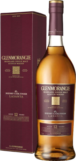Glenmorangie - Lasanta 12 Year Old 70cl Bottle
