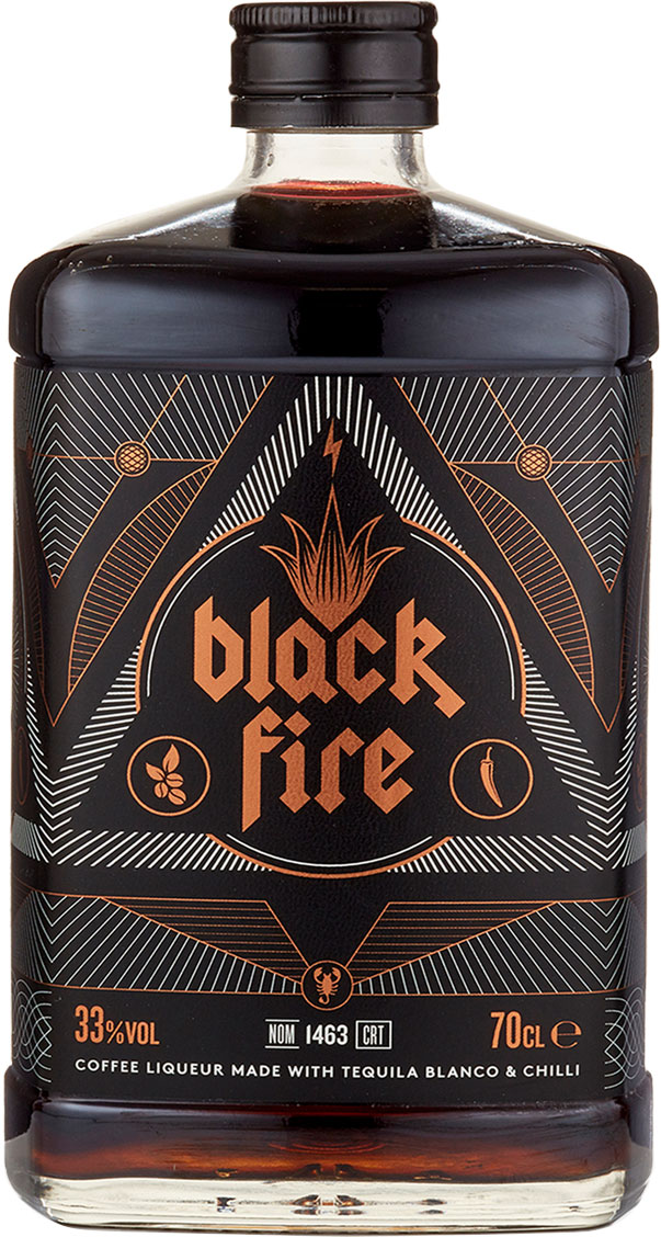 Black Fire - Coffee Liqueur 70cl Bottle