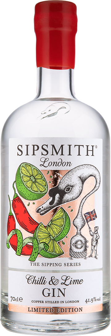 Sipsmith - Chilli And Lime Gin 70cl Bottle