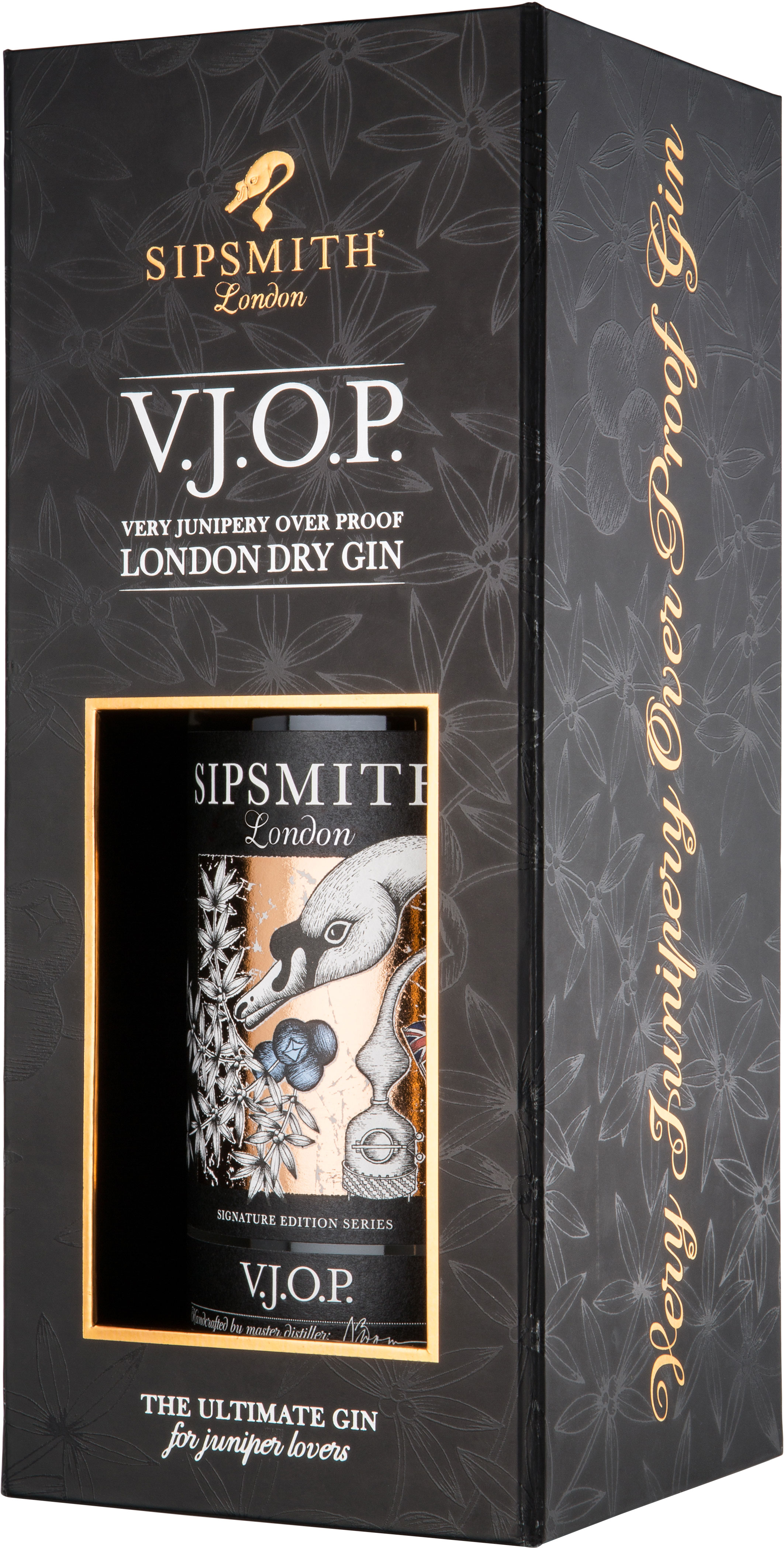 Sipsmith - VJOP Very Junipery Over Proof Gin 70cl Bottle