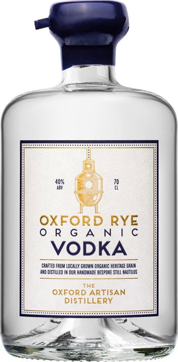 Oxford - Rye Organic Vodka 70cl Bottle