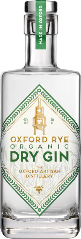 Oxford - Rye Organic Dry Gin 70cl Bottle