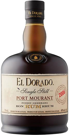 El Dorado - Port Mourant 2006 70cl Bottle