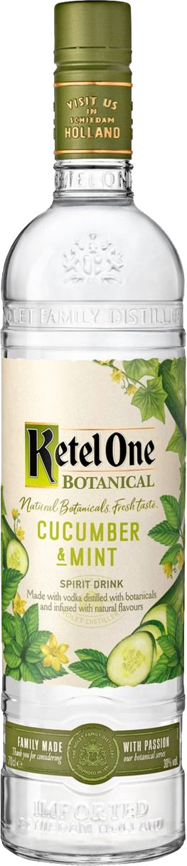 Ketel One - Botanical Cucumber & Mint 70cl Bottle