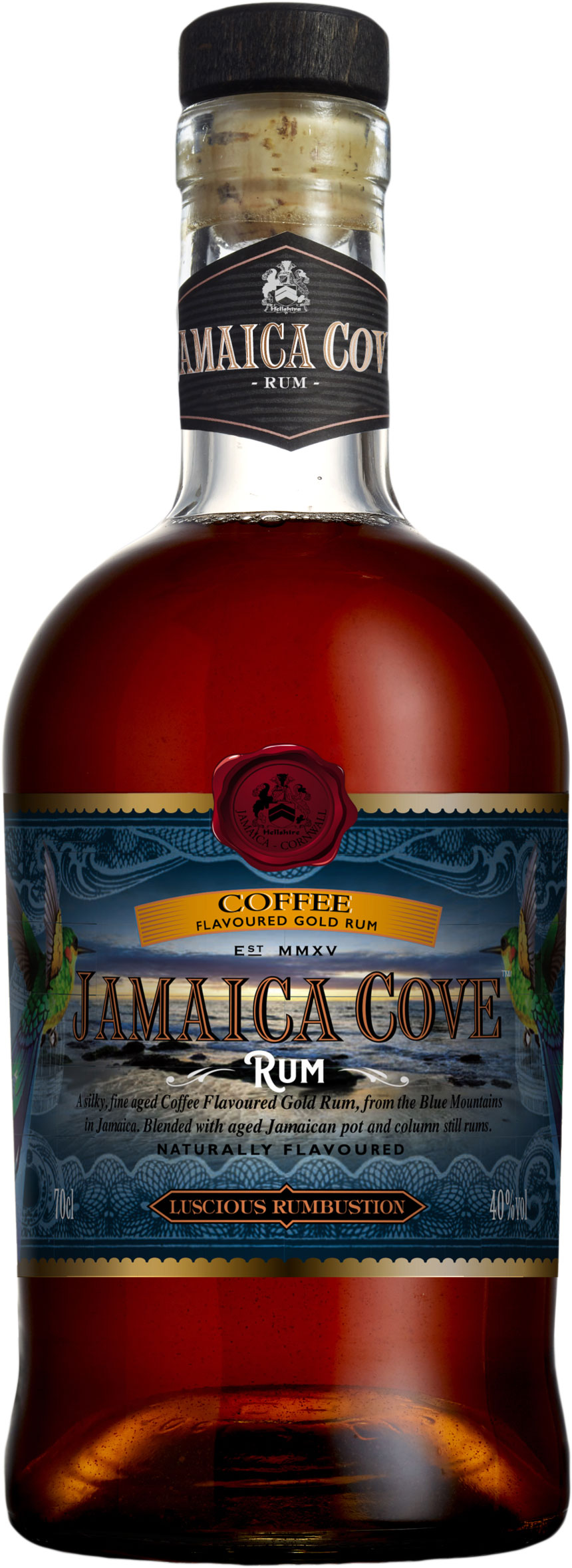 Jamaica Cove - Coffee Gold Rum 70cl Bottle