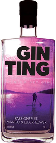 Gin Ting - Passionfruit, Mango & Elderflower 70cl Bottle