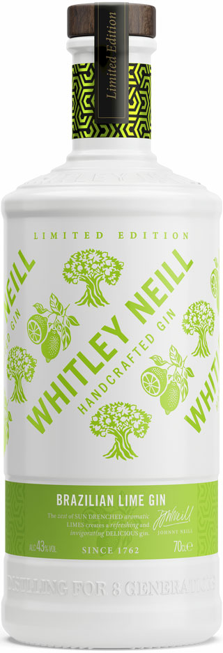 Whitley Neill - Brazilian Lime Gin 70cl Bottle